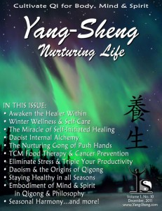 Yang-Sheng Journal - Nurturing Life